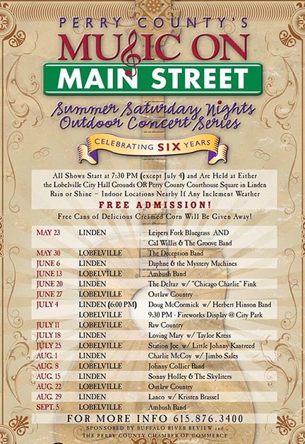 Perry County's Music on Main Street