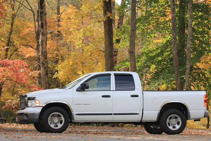 Metal Ford / Dodge Ram Truck - Natchez Trace Fall Foliage
