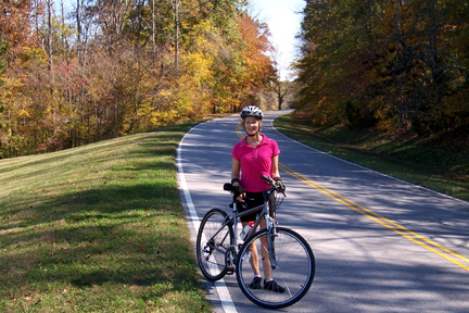 Milepost 362 - Natchez Trace Fall Foliage