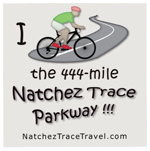 I Biked the Natchez Trace Parkway Sticker