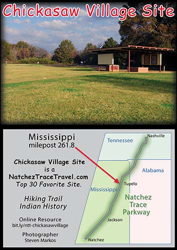 Chickasaw Village Site - Natchez Trace Parkway