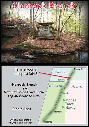 Glenrock Branch on the Natchez Trace Parkway