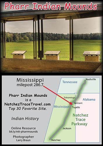Pharr Indian Mounds - Natchez Trace Parkway