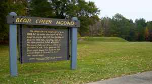 Bear Creek Mound - Natchez Trace Parkway