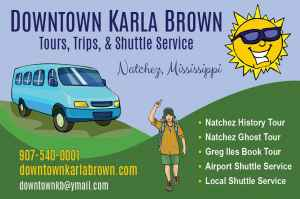 Downtown Karla Brown Tours - Natchez, Mississippi