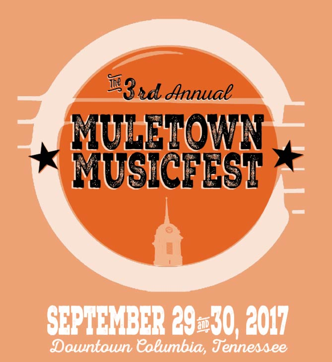 Muletown MusicFest - Columbia, Tennessee