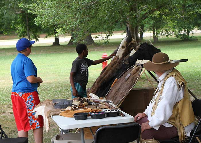 Pioneer Day at the Tupelo Visitor Center
