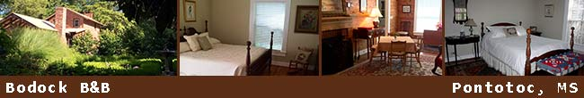 Bodock Bed and Breakfast - Pontotoc, Mississippi