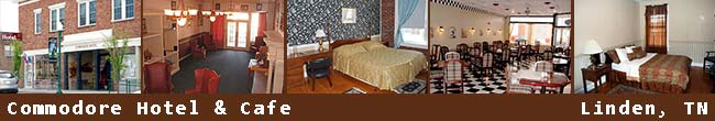Linden, Tennessee Bed and Breakfasts