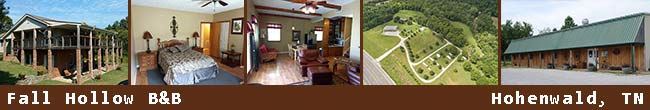 Fall Hollow Bed and Breakfast - Hohenwald, Tennessee