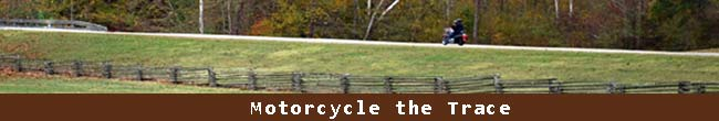 Motorcycling the Natchez Trace
