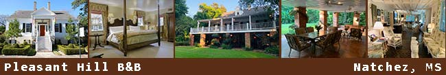 Natchez, Mississippi Bed and Breakfasts