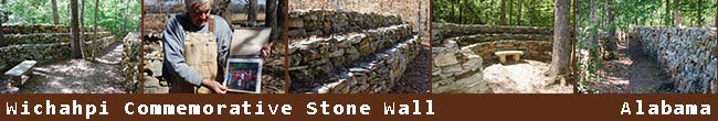 Wichahpi Commemorative Stone Wall (Te-lah-nay's Wall)