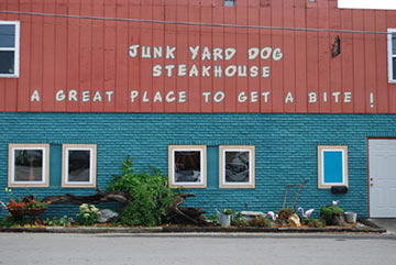 The Junkyard Dog Steakhouse - Hohenwald, Tennessee