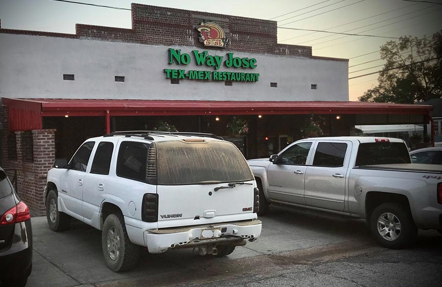 No Way Jose Restaurant - Houston, Mississippi