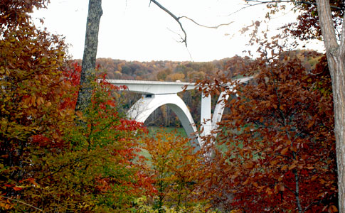 Double Arch Bridge view from Birdsong Hollow