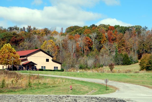 Leiper's Fork District Office - Tennessee Fall Foliage
