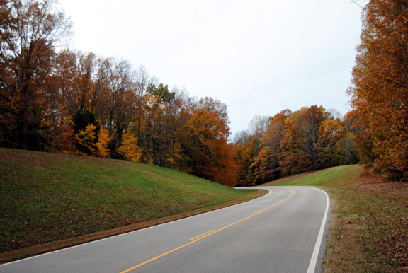 Milepost 399 - Tennessee Fall Foliage