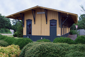 Hohenwald, Tennessee Train Depot