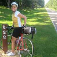 Mississippi - 222 miles biked, 222 miles to go!