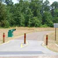 Mississippi - The northern terminus of the Multi-Use path at the Reservoir Overlook site.