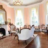 Formal Parlor - located just off the grand entrance hall, this light and spacious parlor is perfect for socializing with other guests, morning coffee, or planning your daily excursion.
