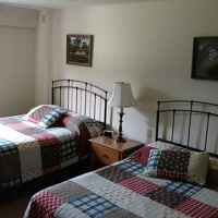 Fall Hollow has two B&B guest rooms with two double beds and a private bath.