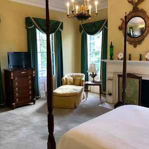 Rebecca Delain Guest Room at Brandon Hall Plantation Bed and Breakfast.
