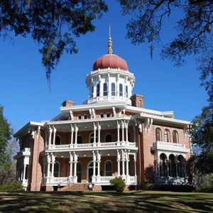 Exterior view of Longwood - Natchez, Mississippi