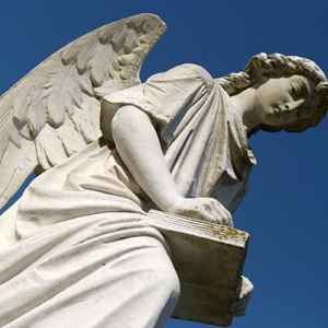 The Turning Angel - Natchez City Cemetery
