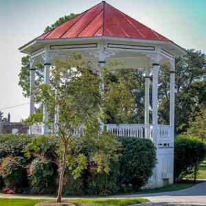 Gazebo on the Natchez Bluff