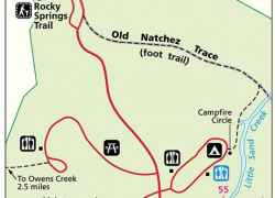 Rocky Springs Map