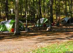 Rocky Springs Campground - tent camping