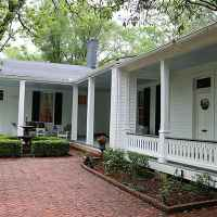 Back Gallery at Collina Plantation Inn Bed and Breakfast - Port Gibson, MS