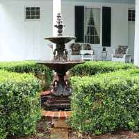Courtyard Fountain at Port Gibson Bed and Breakfast
