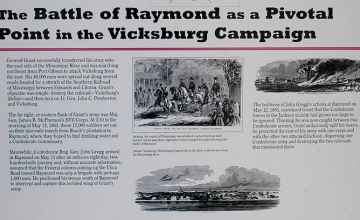 The Battle of Raymond was a pivotal point in the Vicksburg campaign.