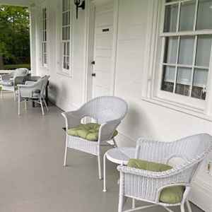 Front Porch at Mamie's Cottage Bed and Breakfast - Raymond, Mississippi