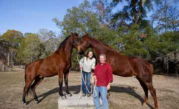 Your innkeepers and their horses.