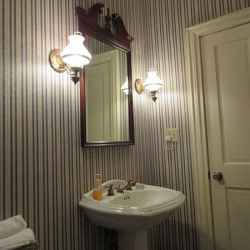 Hammond-Routt House - Private bathroom with new tub/shower combo.