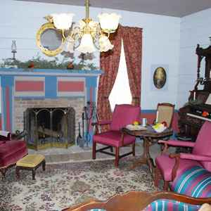 The Col. James Drane House - The Parlor is one of seven rooms that you may view.