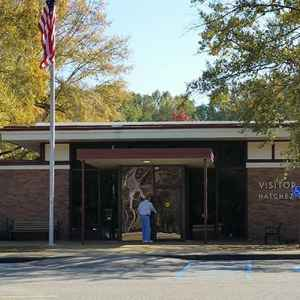 Exterior view of the Visitor Center - Natchez Trace Parkway