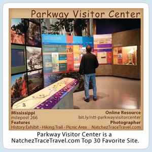 Parkway Visitor Center Stickers
