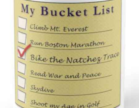 My Bucket List - Standard Size Mug