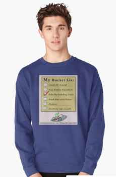 My Bucket List - Men's Pullover