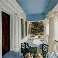 Upstairs Gallery at Choctaw Hall - a Natchez Bed and Breakfast.