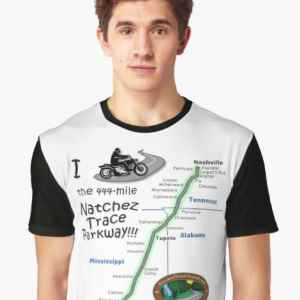 I Rode the Natchez Trace - Graphic T-Shirt