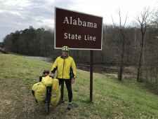 Steve at the Alabama State Line