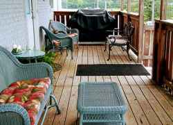 Upstairs Covered Deck