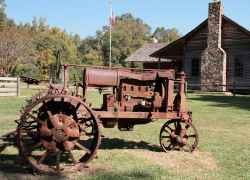 Mississippi - French Camp Historic Village - Antique Tractor