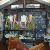 Inside one of the antique shops. - Leiper's Fork, Tennessee